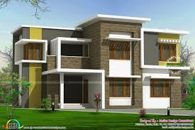 box type house design lovely 2300 sq ft box type home kerala home design and floor plans