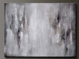 graphite gray 40 x 30 abstract acrylic painting huge