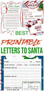 Downloadable files are in non editable pdf format. Best Santa Letters Printable Letters To Santa For Kids Dear Santa Letters Children Will Love Letters