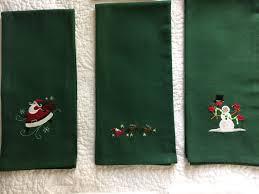Embroidery Library Christmas Designs Christmas Kitchen Towels Embroidery Designs From Embroidery