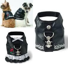 dog leather vest