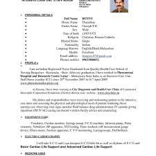 Sample Staff Nurse Resume Sample Resume For Nurses 6 Registered