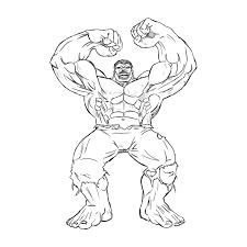 Bello Disegni Hulk Da Stampare E Colorare Migliori Pagine Da