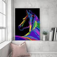 pop art horse print horse gift horse decor horse lover horse art