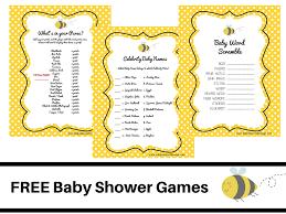 Best Of Popular Baby Shower Games - Baby Shower Ideas