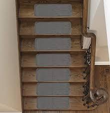 ottomanson softy stair tread mats skid resistant rubber backing non slip carpet