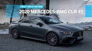 My test car included a whopping $13,545 in options, some of which you could easily forgo ($720 for blue paint, $1,950. 2020 Mercedes Amg Cla 45 First Drive Spiritful Successor