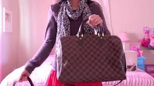 Louis Vuitton Bag Comparison Speedy 30 Vs Speedy 35 With A Strap
