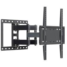 Husky Mounts Heavy Duty Full Motion TV Wall Mount Fits Most 32 \u2013 55 Inch LED LCD Flat Screen and Other with VESA 400x400 400x200 300x300 300x200 200x200 or