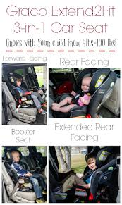 graco extend2fit 3 in 1 convertible car seat fits babies and children from 4
