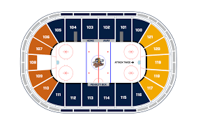 Florida Everblades Seating Chart Greenville Swamp Rabbits Bon Secours Wellness Arena