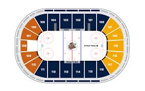 Cyclones Hockey Seating Chart Greenville Swamp Rabbits Bon Secours Wellness Arena