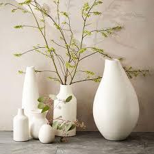 pure white ceramic vases  west elm au