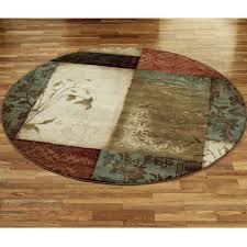 7 ft round kitchen rugs designs