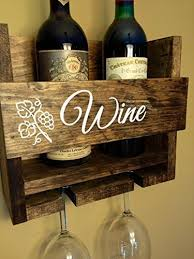 For convenience, i have embedded links into the text that will take you to the products used in this… Rustic Personalized Wine Rack Engraved Carved Custom Vintage 2 Bottle Wall Mount Wine Rack With 2 Glass Slot Holder Wall Decor Primitive Handmade Wine Not Buy Online In Bahamas At Bahamas Desertcart Com Productid