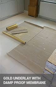 Gold Underlay With Integrated Damp And Sound Proof Membrane Wood Floor ...