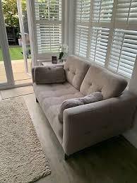 dark blue leather sofa 2 seater 5 00