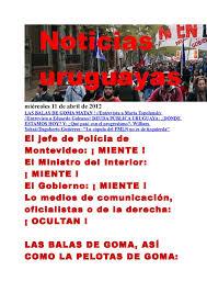 Calaméo - Noticias Uruguayas miércoles 11 de abril de 2012