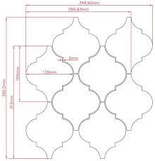 Arabesque Tile Floor Choice Image Home Flooring Design