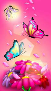 Pink Butterfly Wallpapers (68+ best ...