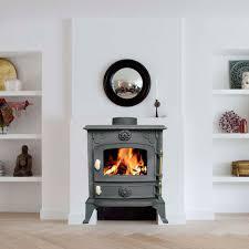sentinel foxhunter cast iron log burner 6kw wood burning coal stove fireplace ja013