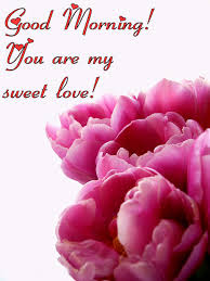 good morning you are my sweet love