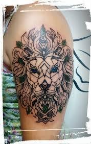 Tetování Lev Mandala Tetování Tattoo