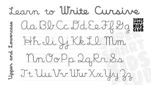 Write Cursive Alphabets Uppercase And Lowercase Letters Youtube