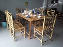 bamboo dining room furniture dining room tables can bring the family together each day once reserved for sunday dinners