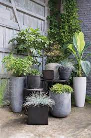 46 impressive pot garden design ideas