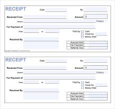 Cash Receipt Template Pdf Unique 48 Cash Receipt Templates Free Samples Examples Format