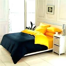 solid yellow comforter black pale twin xl s