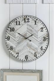 herringbone wall clock from the next uk