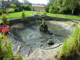 carpvale pond cleaning services