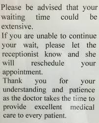 Fake Doctors Note New York The Real Reason Your Wait At The Doctors Office Is So Long Huffpost