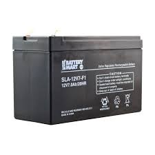 12 Volt 7 Ah Sealed Lead Acid Rechargeable Battery F1 Terminal