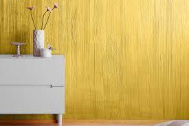 Metallic Wandfarbe Effektfarbe Gold Alpina Farbrezepte Metall