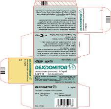 Dexmedetomidine Dose Chart Dexdomitor Dexmedetomidine Hydrochloride