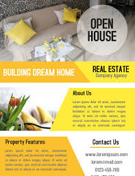 business open house flyer template open house real estate property business flyer and poster