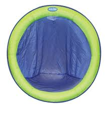 Swimways Spring Float Papasan Pool Chair Light Blue Lime Swimways Spring Float Papasan Blue Lime See This Great
