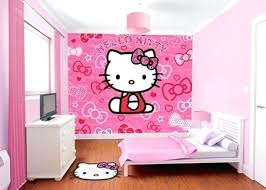 kitty room decor. Hello Kitty Room Decor For Kids Girls In Shades Of Pink With A Statement