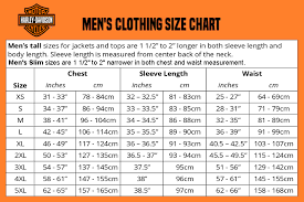 Harley Davidson Size Chart Related Keywords Suggestions