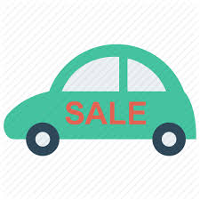 Automobile For Sale Sign Cars Flat Vol 2 By Iconic Hub