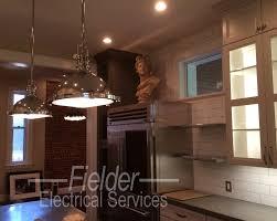 Home lighting designs Apartment Remodeled Home Lighting Kitchen Dining Room Kitchen Lighting Design Elle Decor Lighting Design Fielder Electrical Services Inc
