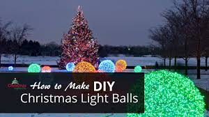 Awesome Christmas Light Ideas How To Make Christmas Light Balls