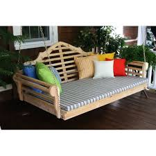 porch swing bed pained stained pine unfinished twin diy porch swing bed diy plans