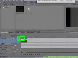 sony vegas pro. image titled set fade offset in sony vegas pro step 4