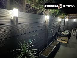 kodiak outdoor solar garden wall light
