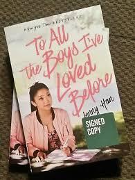 To all the girls i've loved before (beta lumity) by peckogecko. Signed To All The Boys I Ve Loved Before Jenny Han Book Netflix Series Ebay