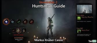 invoker cheat sheet vermintide 2 huntsman career talents builds guide team brg